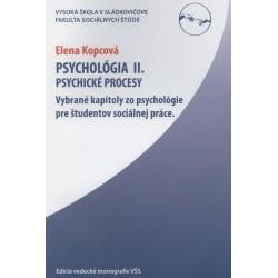 Psychológia II. Úvod do psychológie
